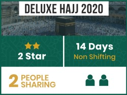 Hajj Package 2020, 14 Days, Non Shifting, Double Room