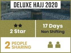 Hajj Package 2020, 17 Days, Non Shifting, Double Room