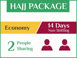 Hajj Package 2019, 14 Days, Non Shifting, Double Room