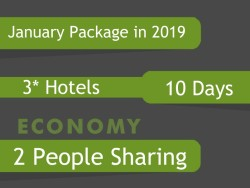 3* Umrah Package in January 2019