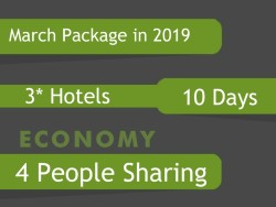 3* Umrah Package in March 2019