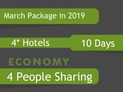 4* Umrah Package in March 2019