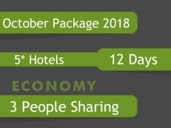 5* Umrah Package In October 2018